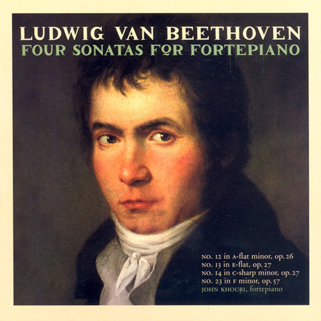 Beethoven: Piano Sonatas Nos. 12-14 and 23