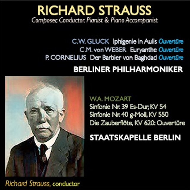 Richard Strauss · Composer, Conductor, Pianist & Piano Accompanist