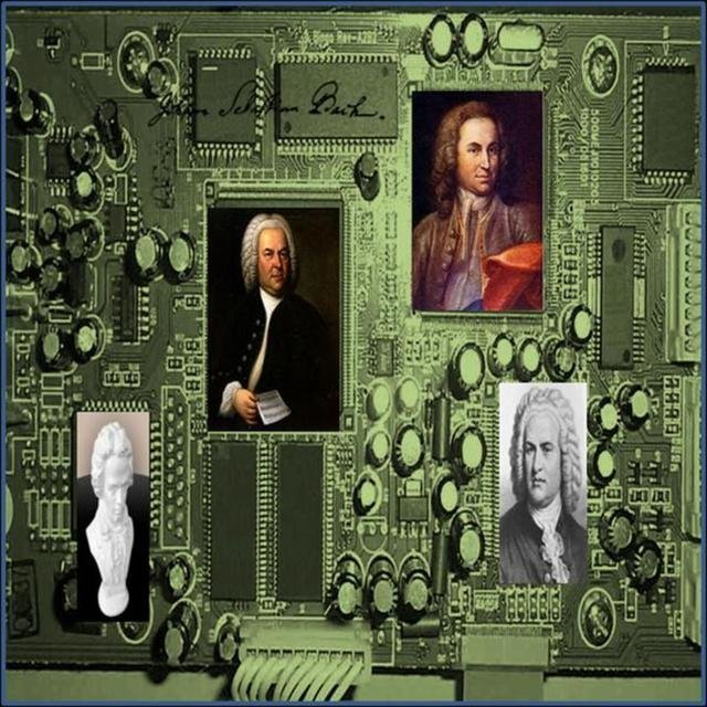 Bach's Two Part Inventions reMixed