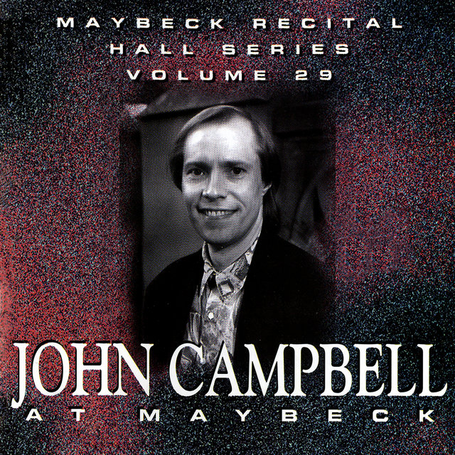 The Maybeck Recital Series, Vol. 29