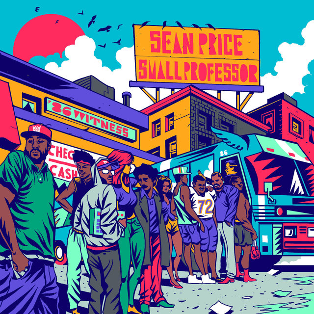 Cover art for album 86 Witness by Sean Price, Small Professor