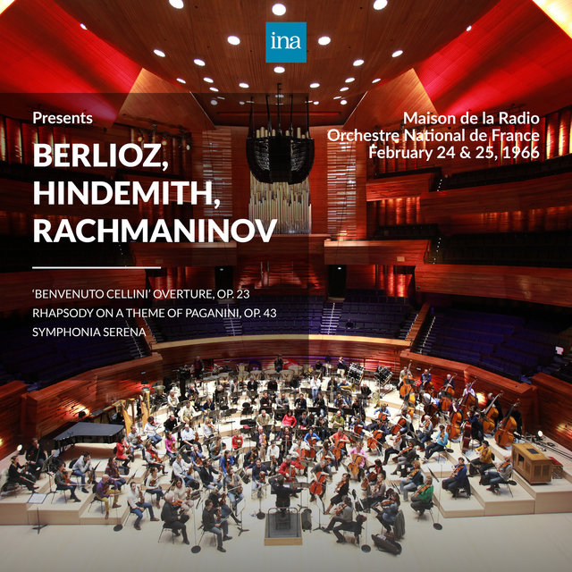INA Presents: Berlioz, Hindemith, Rachmaninov by Orchestre National de France at the Maison de la Radio