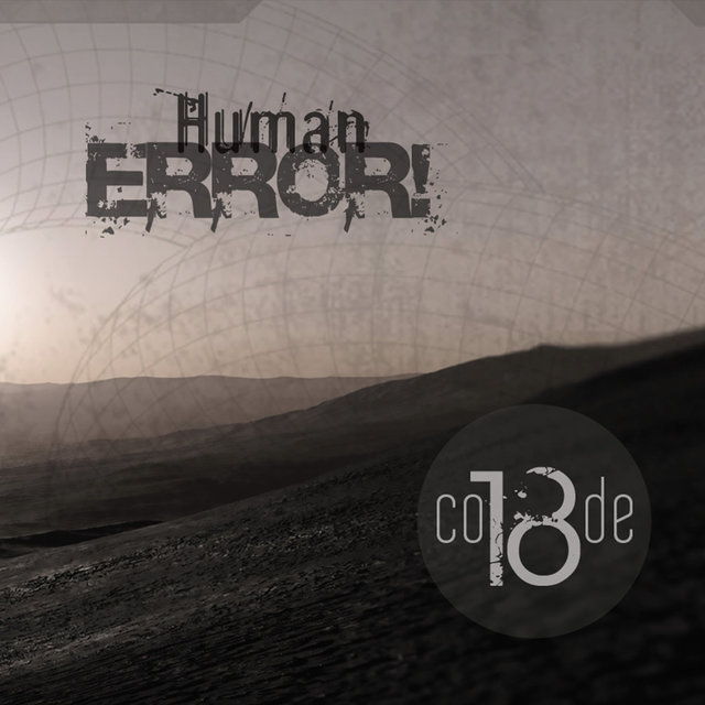 Cover art for album Human Error! by Code 18