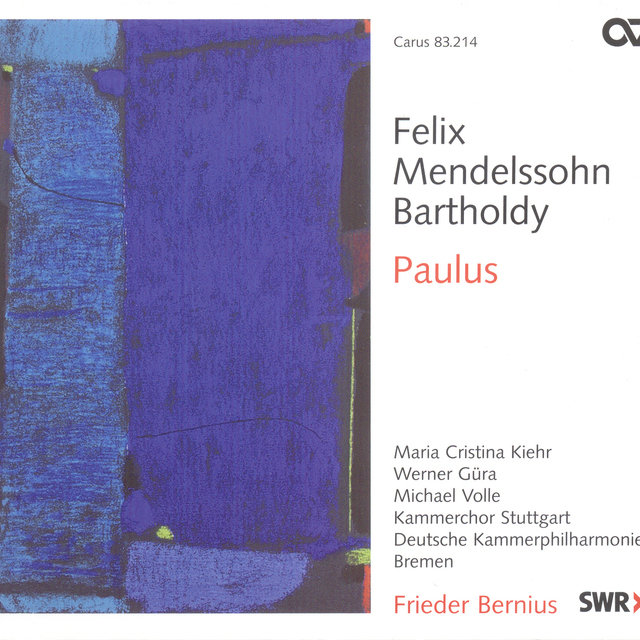 Mendelssohn, Felix: Church Music, Vol. 11 - St. Paul [Oratorio]