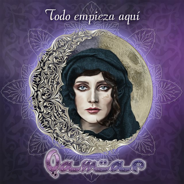 Cover art for album Todo Empieza Aquí by Qamar