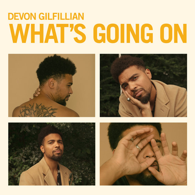 Cover art for album What's Going On by Devon Gilfillian