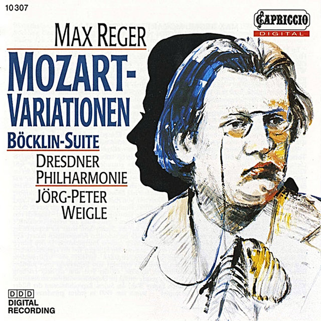 Reger: Variations and Fugue on a Theme of Mozart & 4 Tondichtungen nach Arnold Böcklin