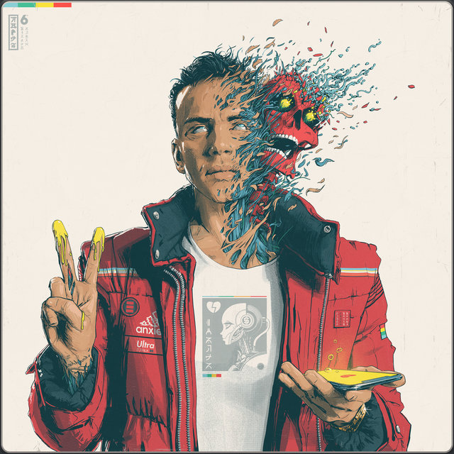 Cover art for album Confessions of a Dangerous Mind by Logic