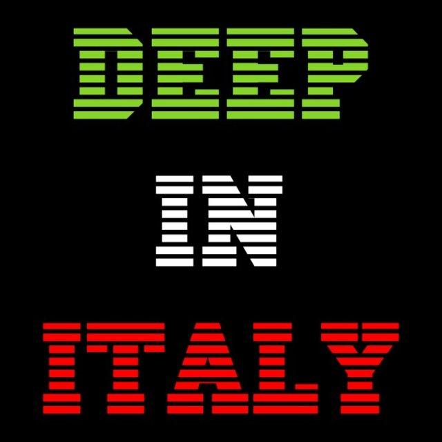 Deep in Italy