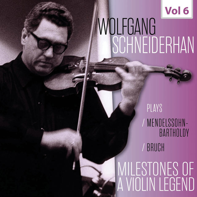 Milestones of a Violin Legend: Wolfgang Schneiderhan, Vol. 6