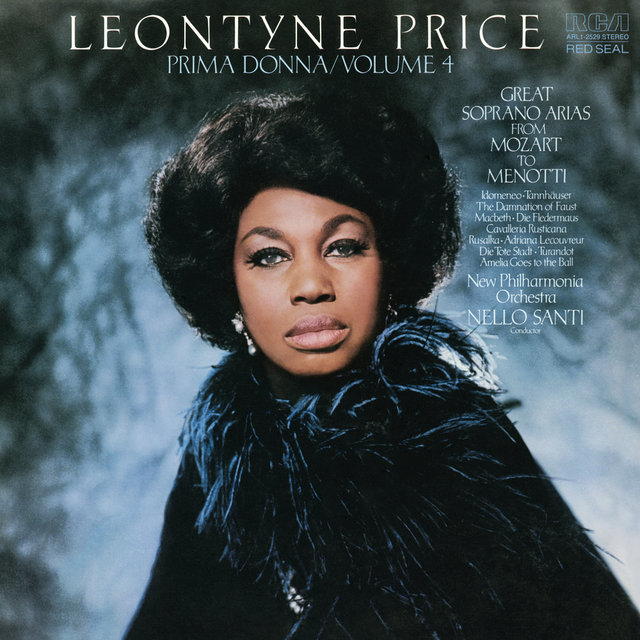 Leontyne Price - Prima Donna Vol. 4: Great Soprano Arias from Mozart to Menotti
