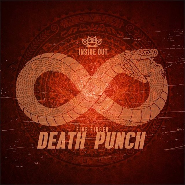 Cover art for album Inside Out by Five Finger Death Punch