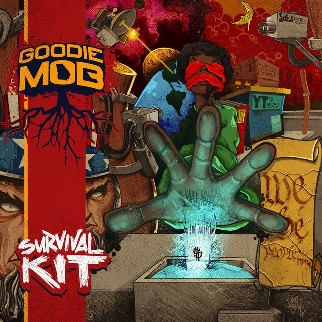 Cover art for album Survival Kit by Goodie Mob