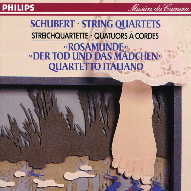 "Schubert: String Quartets Nos.13 & 14 ""Death & the Maiden"""