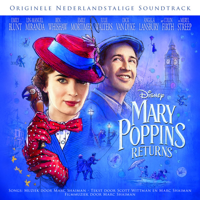 Mary Poppins Returns (Originele Nederlandstalige Soundtrack)