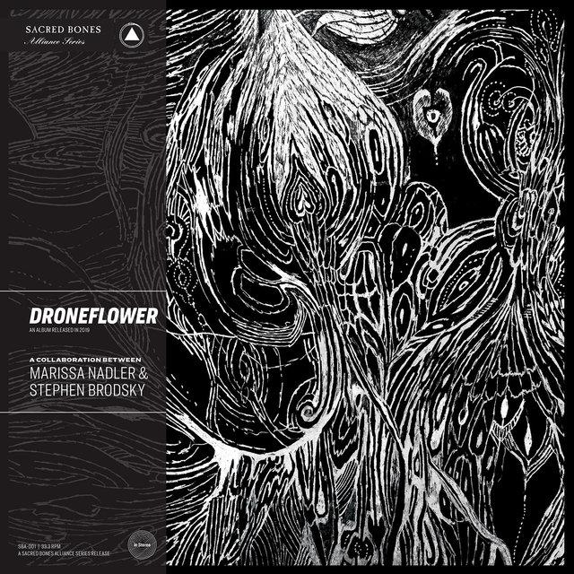 Cover art for album Droneflower by Marissa Nadler, Stephen Brodsky