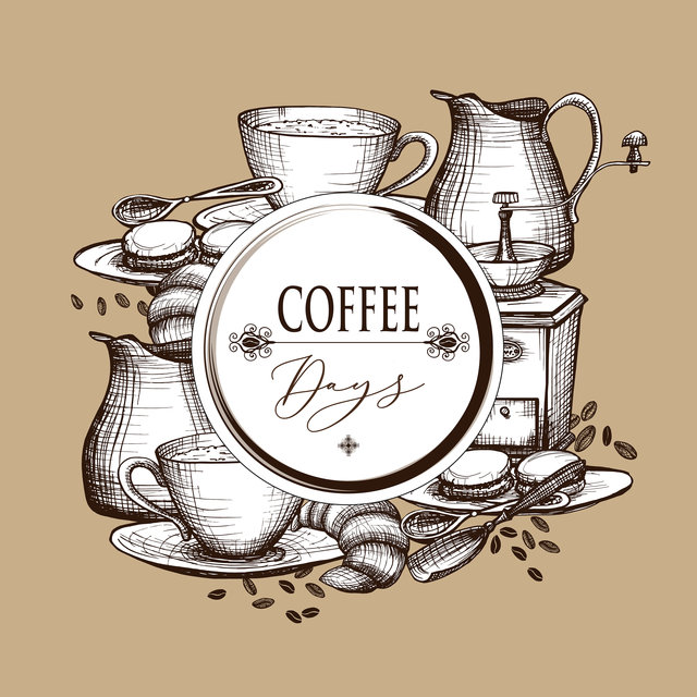 Coffee Days – Background Cafe Music