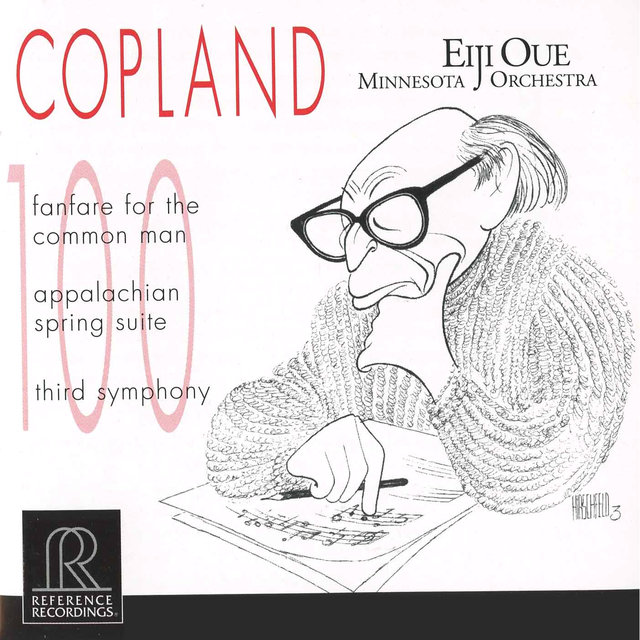 Copland: Fanfare for the Common Man, Appalachian Spring & Symphony No. 3