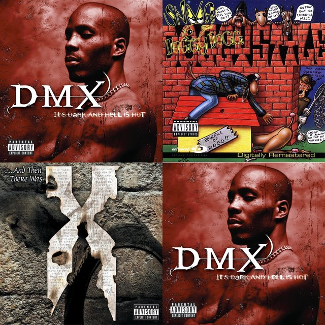 Cover art for album DMX vs Snoop Dogg by User