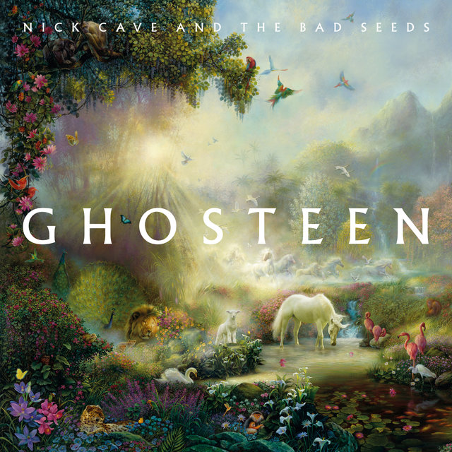 Cover art for album Ghosteen by Nick Cave & The Bad Seeds