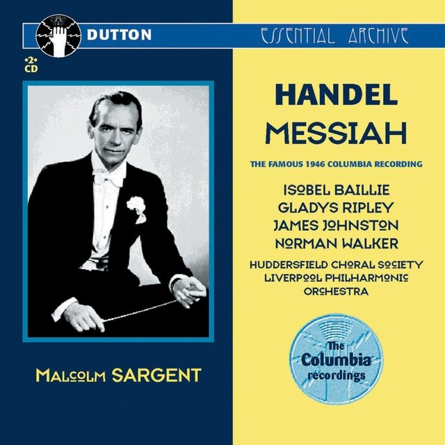 Handel: Messiah (The Famous 1946 Columbia Recording)