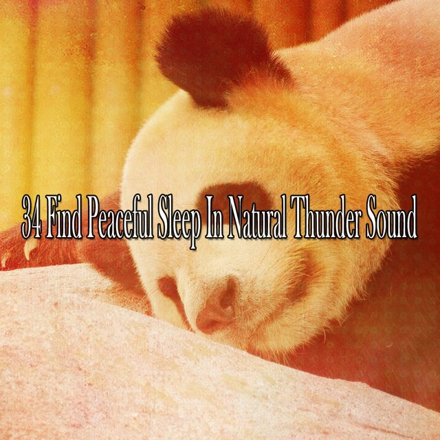 34 Find Peaceful Sleep in Natural Thunder Sound