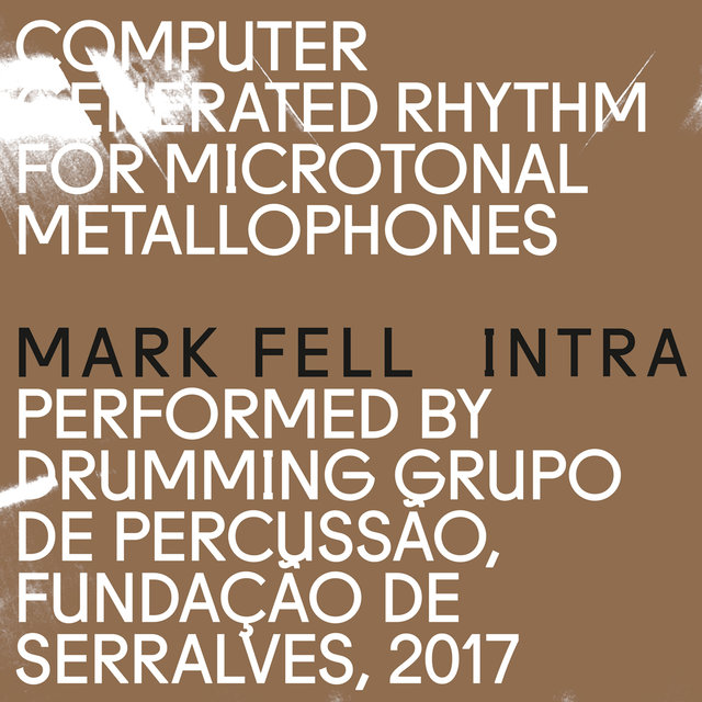 Cover art for album Intra by Mark Fell