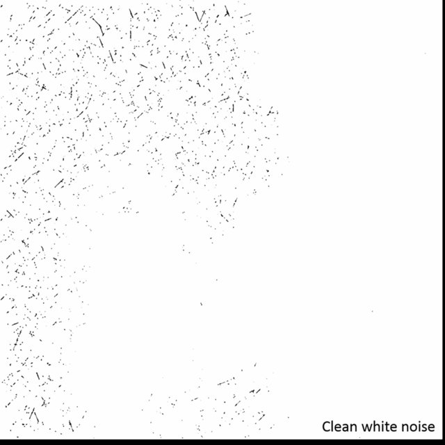 Clean White Noise and other Background Ambiances