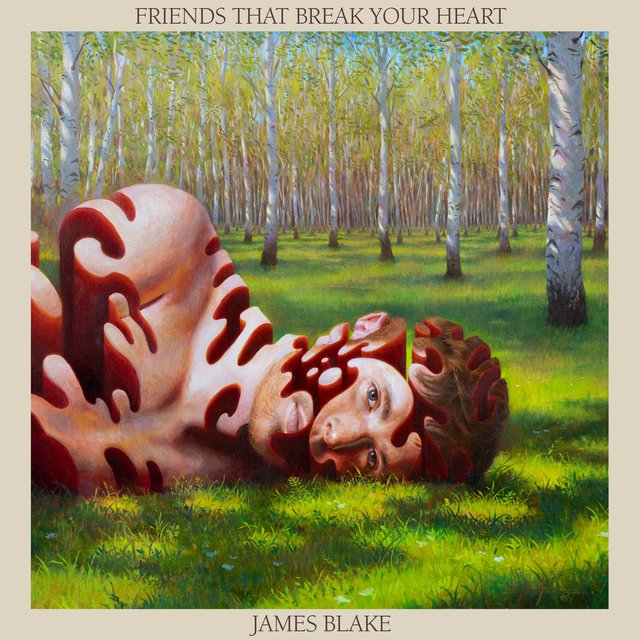 Cover art for album Friends That Break Your Heart by James Blake