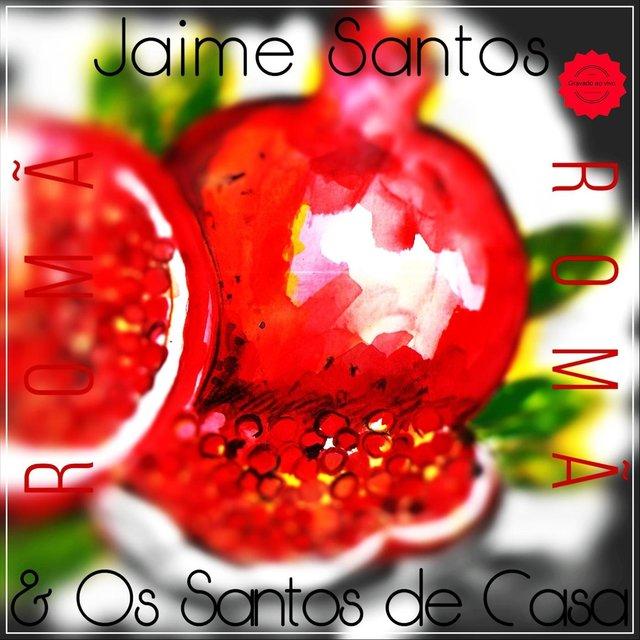 Cover art for album Romã by Jaime Santos & Os Santos de Casa