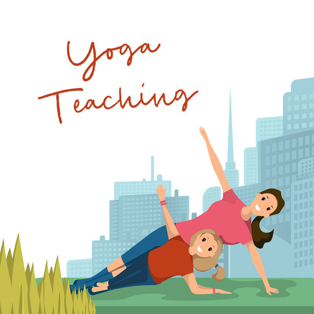 Yoga Teaching: Music for Learning Yoga Positions or Meditation for Children