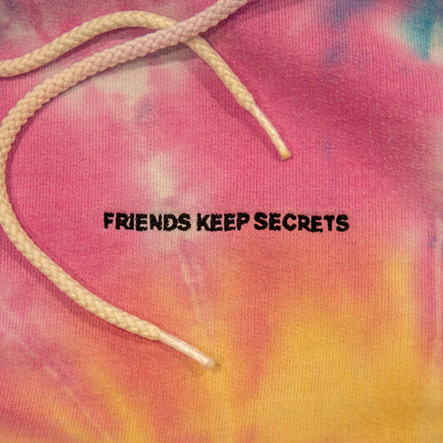 Cover art for album FRIENDS KEEP SECRETS by benny blanco