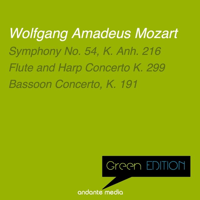 Green Edition - Mozart: Symphony No. 54, K. Anh. 216