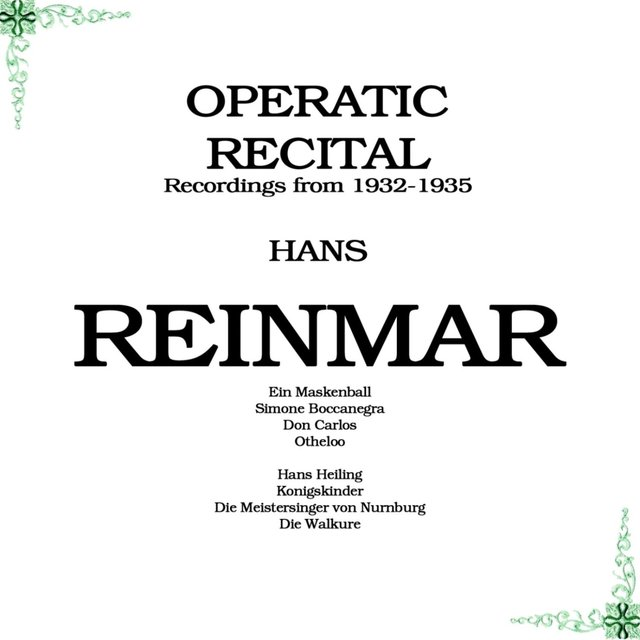 Operatic Recital
