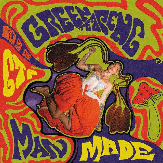 Cover art for album MAN MADE by Greentea Peng