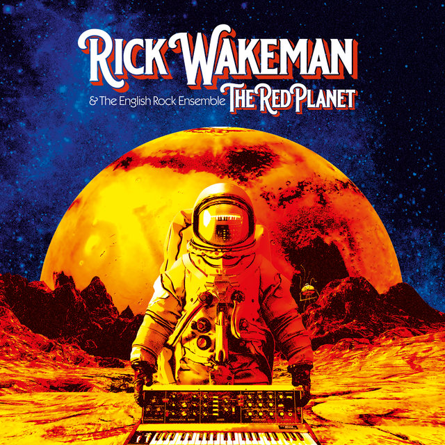 Cover art for album The Red Planet by Rick Wakeman