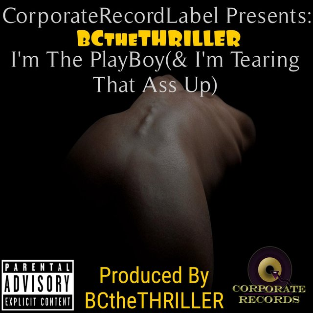 Cover art for album I'm the Playboy (And I'm Tearing That Ass Up) by BCtheTHRILLER