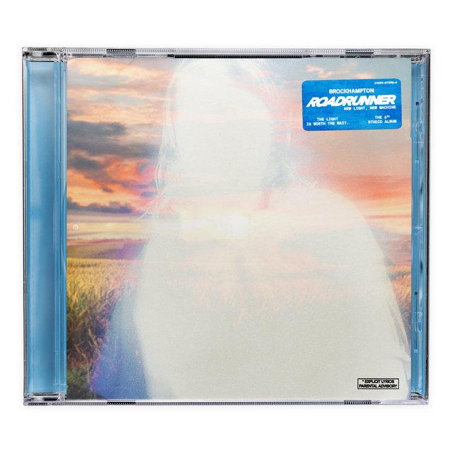 Cover art for album ROADRUNNER: NEW LIGHT, NEW MACHINE by BROCKHAMPTON