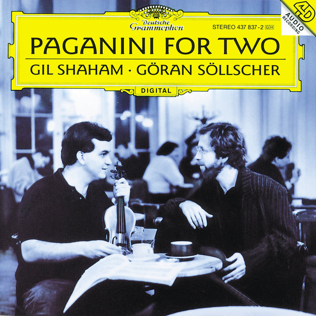 Cover art for album Paganini For Two by Gil Shaham, Göran Söllscher