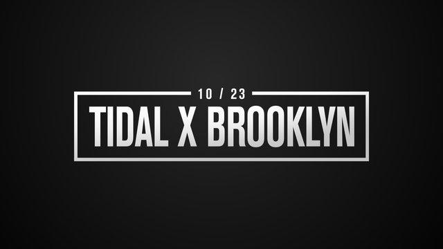 Cover art for album  by TIDAL X Brooklyn, TIDAL X Brooklyn 2018