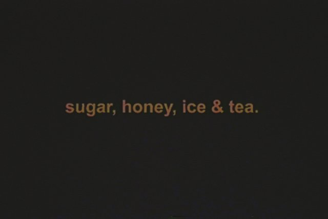 sugar honey ice & tea (Lyric Video)