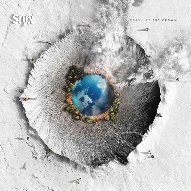 Cover art for album Crash Of The Crown by Styx