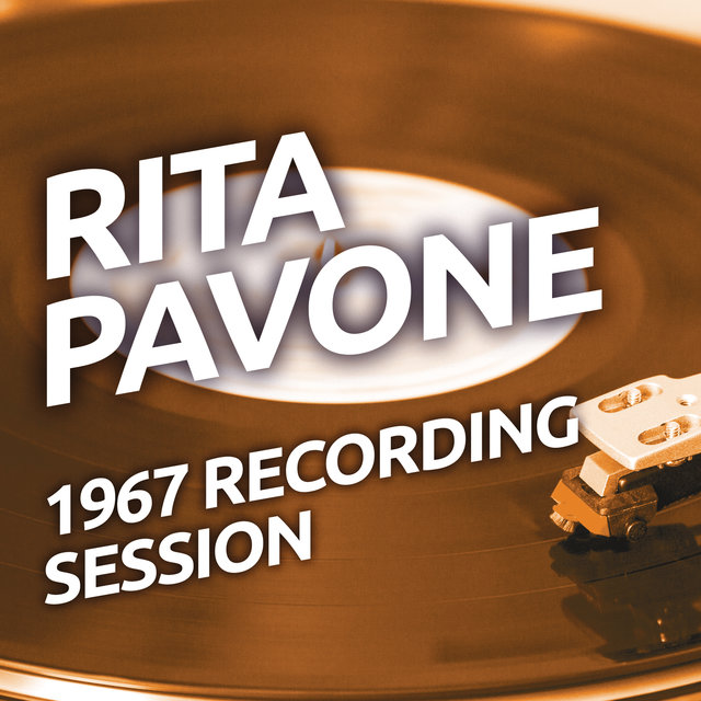 Rita Pavone - 1967 Recording Session