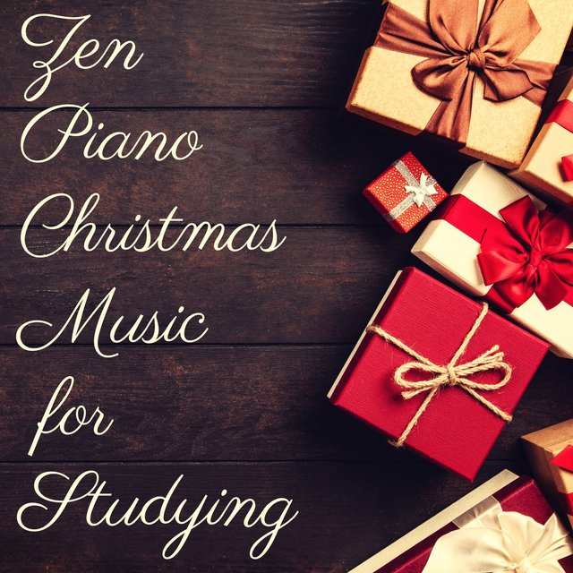 Zen Piano Christmas Music for Studying