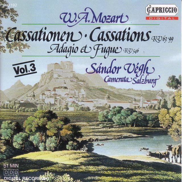 Mozart, W.A.: Cassations, K. 63 and 99 / Adagio and Fugue, K. 546
