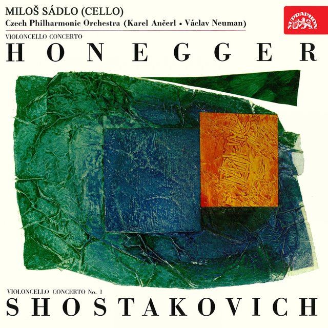 Honegger & Schostakovich: Concertos for Cello and Orchestra