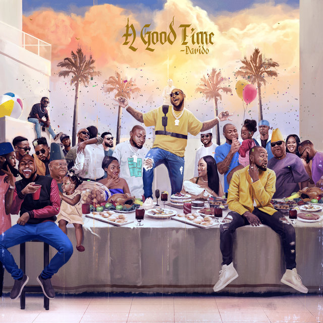Cover art for album A Good Time by DaVido