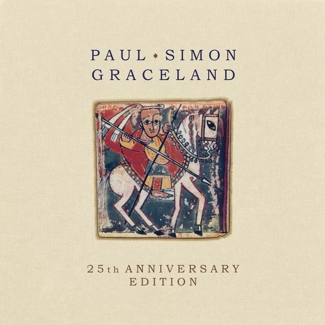Cover art for album  by Paul Simon