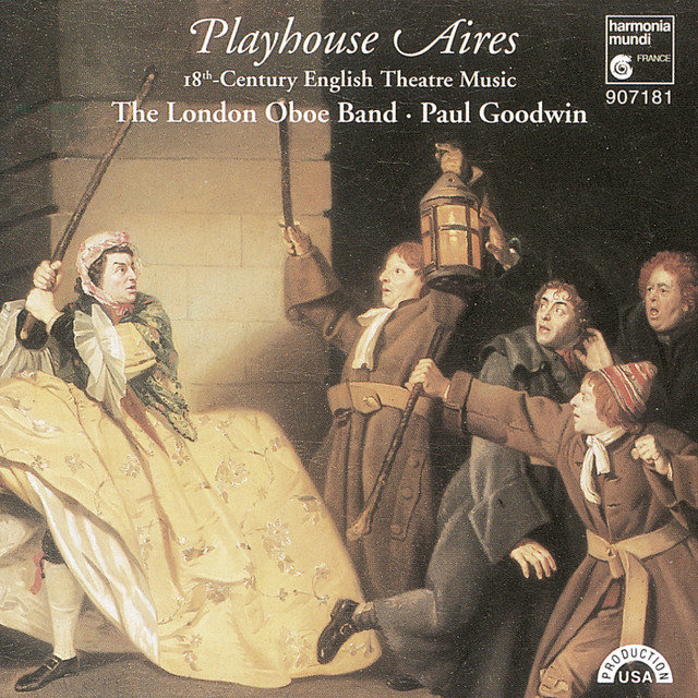 Playhouse Aires - 18th Century English Theatre Music