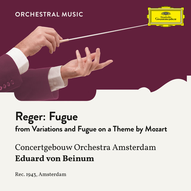 Reger: Variations and Fugue on a Theme by Mozart, Op. 132: Fugue